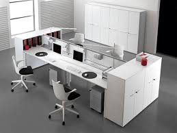 contemporary office ideas. White Contemporary Office Furniture Ideas