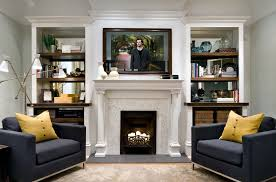 Living Room Designs With Fireplace And Tv Seura Balances Technology And Design On Hgtv