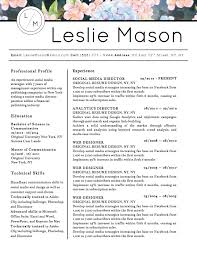 Resume Templates That Stand Out 100 Best Creative Resume Templates For Microsoft Word 100 47