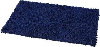 navy blue contour bath rug soft gy loop mat rugs x 2