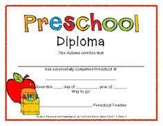 preschool graduate diploma google search preschool graduation  preschool graduation diplomas