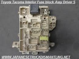 2001 2002 2003 2004 toyota tacoma fuse block 82730 04011 , 1996 toyota tacoma fuse box diagram at 2004 Tacoma Fuse Box