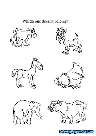 Coloring Pages Of Farm Animals Openwhoisinfo