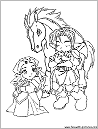 Zelda 33 Jeux Vid Os Coloriages Imprimer