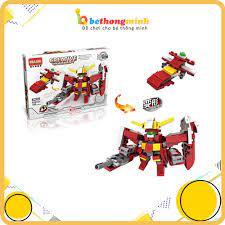 ĐỒ CHƠI LẮP GHÉP LEGO ROBOT VÀ MÁY BAY 2 TRONG 1 CHO BÉ tốt giá rẻ