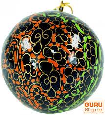 Weihnachtsbaum Deko Kugel Handbemalte Weihnachtsbaumkugeln Aus Pappmachee Christbaumschmuck Weihnachtsdekoration 10x7x7 Cm ø7 Cm