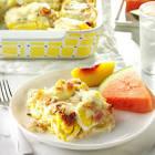 bacon  n  egg lasagna
