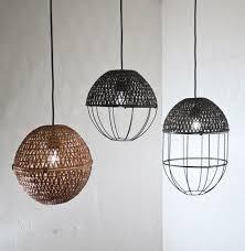 pop bamboo lampshades