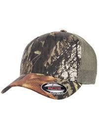 Flexfit 6911 Mens Mossy Oak Stretch Mesh Cap