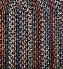 blue ridge wool braided chair pad 15 e round
