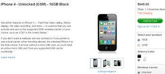 iphone 4 price. apple iphone 4 unlocked price iphone