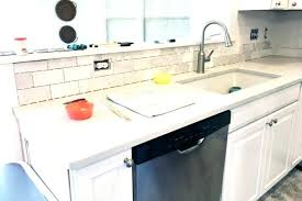 how to install a tile backsplash in kitchen how to install a marble subway tile tiling