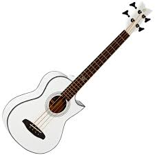 ortega d walker extra short scale acoustic bass white loading zoom
