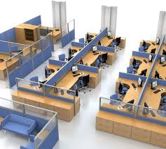 office furniture space planning. Interesting Office 3D Space Plan For Office Furniture Planning