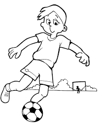 Small Picture Soccer Coloring Pages Printable Boys Coloring Pages Football