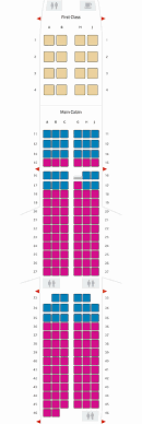 Examples Airbus A321 Seating Chart American Airlines