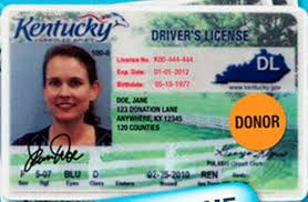 Kentucky Lexington Organ Mothers License Will Herald Change To Hope Increase Driver's 3 Donors Leader