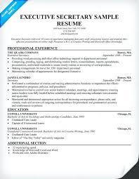 Secretary Skills Resume