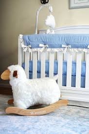 after we had the bedding selected i knew i wanted a white crib that was simple but still stylish the emery 4 in 1 crib c o delta children was the