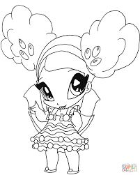 Small Picture Winx Club Caramel Pixie Coloring Page Free Printable Coloring