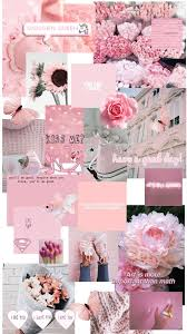 Pink Aesthetic Backgrounds Collage ...