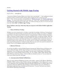 typically<br />Getting Started with Mobile Apps Testing<br />July ...