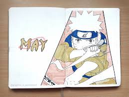 Naruto-Themed May 2019 Anime Bullet Journal Cover Page | Bullet journal  themes, Bullet journal ideas pages, Bullet journal aesthetic