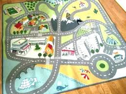 car train track rug thomas rugs for kids cars digital lightning area room wall decals home