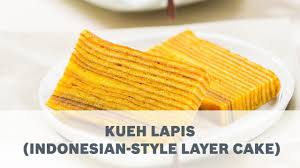 Kueh Lapis Indonesian Style Layer Cake Recipe Cooking With Bosch