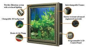Aquavista Wall Aquarium Display Diagram