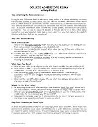 writing a good college application essay writing a successful college application essay about how to start