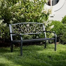 garden oasis ashland garden bench outdoor living patio furniture benches sofas loveseats