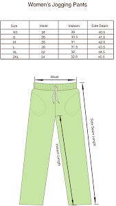 Canada Pants Size Chart Size Charts For Products Projoy Sportswears And Apparel