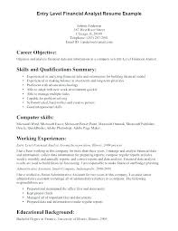 Career Objective For Experienced Resume Objective Resume Customer Service No Experience Writing For 37