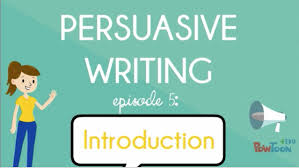 persuasive writing for kids writing an introduction