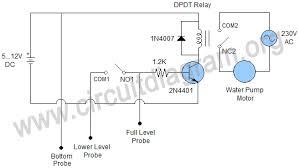 similiar water pump circuit diagram keywords simplest automatic water pump controller circuit diagram
