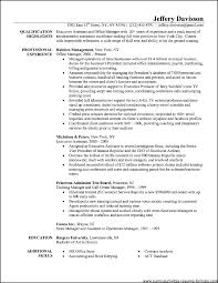 Office Administration Resume Samples Free Samples Examples