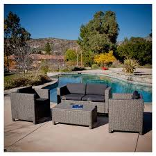 tauton outdoor wicker sofa set