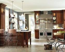 Image Gray Kitchen Wall Colors With Cherry Cabinets Design Ideas Pictures Remodel And Decor Blue Walls Dark Wood Aeroscapeartinfo Decoration Kitchen Wall Colors With Cherry Cabinets Design Ideas