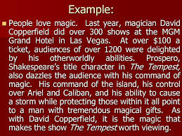 writing an introduction english the tempest essay ppt 4 example
