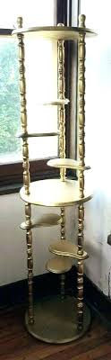 3 tier wooden stand 3 tier wood stand wooden plant retro vintage gold painted end fruit 3 tier wooden stand