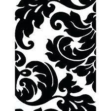 black and white chevron rug black white area rug architecture com black white damask 5