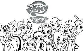 Appealing My Little Pony Coloring Pages Pdf Simplesnackstop