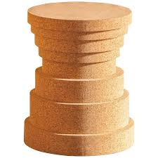 cork furniture. Fine Cork Crac  Cork Stool By Philippe Cramer For Le Point D Contemporary Furniture Throughout