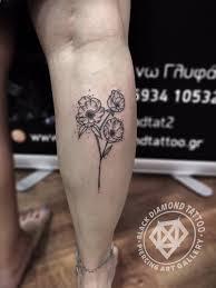 Black Diamond Tattoo On Twitter Poppies Minimal Tattoo