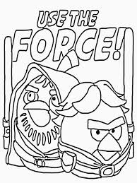 Angry Birds Star Wars Coloring Pages At Getdrawingscom Free For