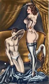 Art bondage dom fem mistress