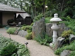 Stone Element In The Japanese Garden Design