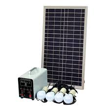 25w off grid solar lighting system with 4 x 5w led lights solar panel battery and cables complete solar lighting kit for a shed garage outhouse