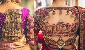 South Indian Blouse Neck Design 30 South Indian Blouse Designs For A Royal Bridal Look